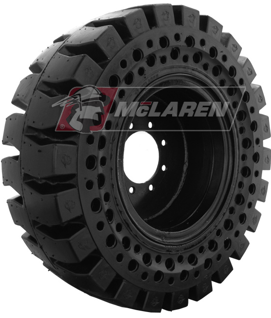 McLaren Nu-Air All Terrain Solid Tire